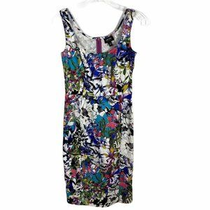 Nicole by Nicole Miller Womens Dress Size 4 Floral